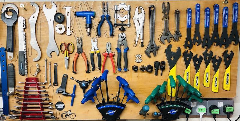 Kemsing Bikes Workshop